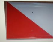 Placa de coto de caza de 2º orden de 30x20 cms.